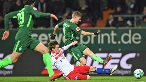 Johannsson helps Bremen to crucial win over HSV