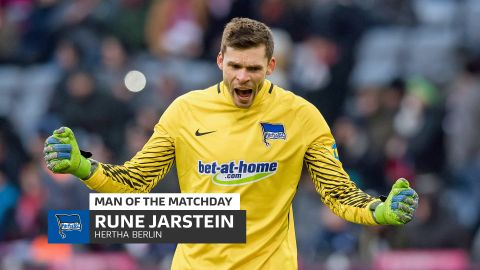Rune Jarstein: MD24 Man of the Matchday