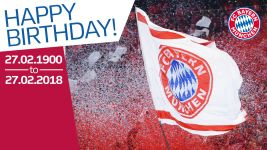Watch: Happy Birthday, Bayern Munich!