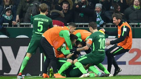 Watch: Werder 1-0 Hamburg