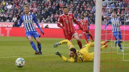 Watch: Bayern 0-0 Hertha