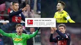 Watch: February Goal of the Month