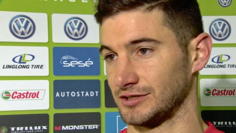 "Watch: Alario: ""A big win against a big team"""