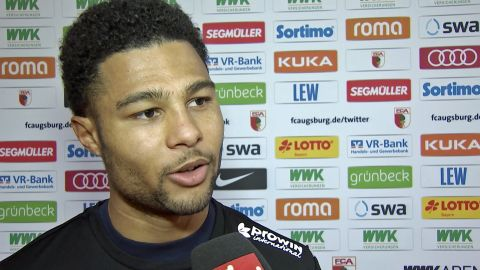 "Watch: Gnabry: ""We defended with power"""