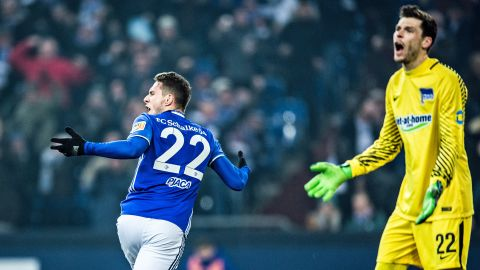 Watch: Schalke 1-0 Hertha Berlin