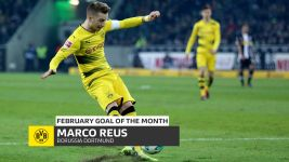 Watch: Reus' February Goal of the Month!