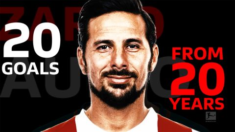 Watch: Claudio Pizarro: 20 goals from 20 years