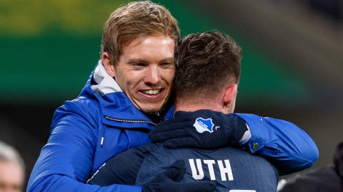"""Nagelsmann the best coach I've had!"" - Uth"