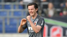 Gregoritsch double helps Augsburg down Hannover