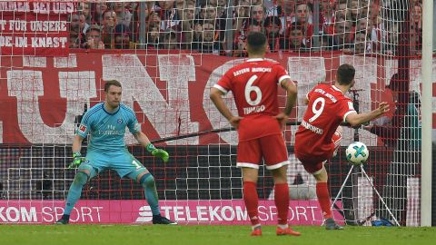 Bayern 6-0 Hamburg: As it happened!