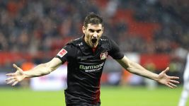 Alario and Brandt combine in Bayer win