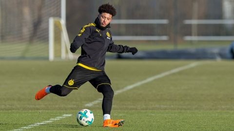 Sancho scores on returns with U19s