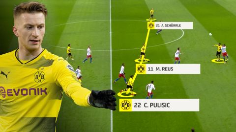 Watch: Borussia Dortmund's revitalised attack