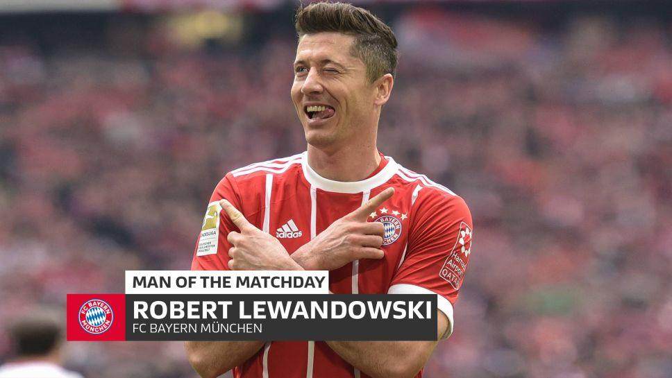Bundesliga Robert Lewandowski Md26 S Man Of The Matchday