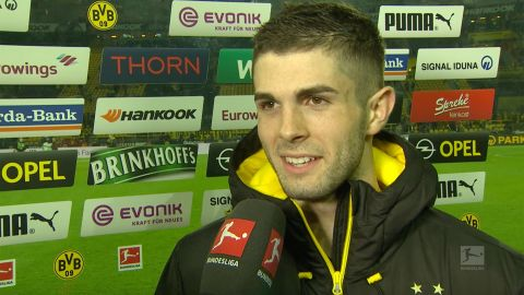 "Watch: Pulisic ""A crazy game"""
