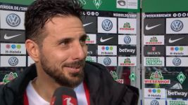 "Watch: Pizarro on ""incredible"" Bremen return"