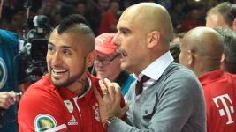 Vidal eyes Guardiola reunion