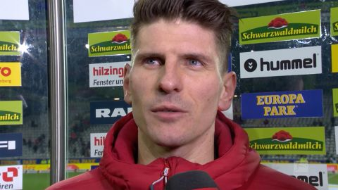 Watch: Mario Gomez on his Germany call-up