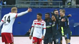 Hertha come from behind to sink Hamburg