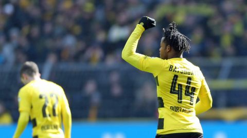 Batshuayi strikes as BVB edge past Hannover