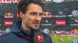 "Watch: Hummels on ""tough game"" against Leipzig"