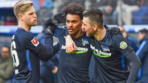 Watch: Hamburg 1-2 Hertha Berlin