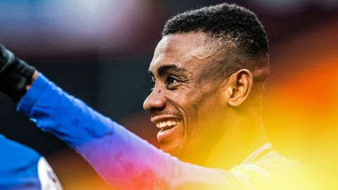 Kalou shining brightly at Hertha