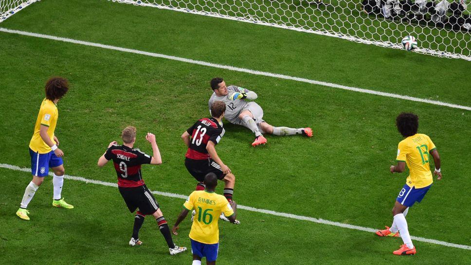 Bundesliga Deutschland Gegen Brasilien 2014 Das
