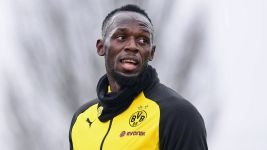 Relive Usain Bolt's trial with Borussia Dortmund!