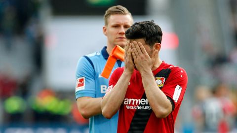 Leverkusen held to stalemate by Augsburg