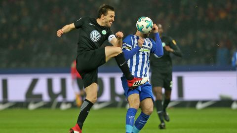 Hertha and Wolfsburg share spoils