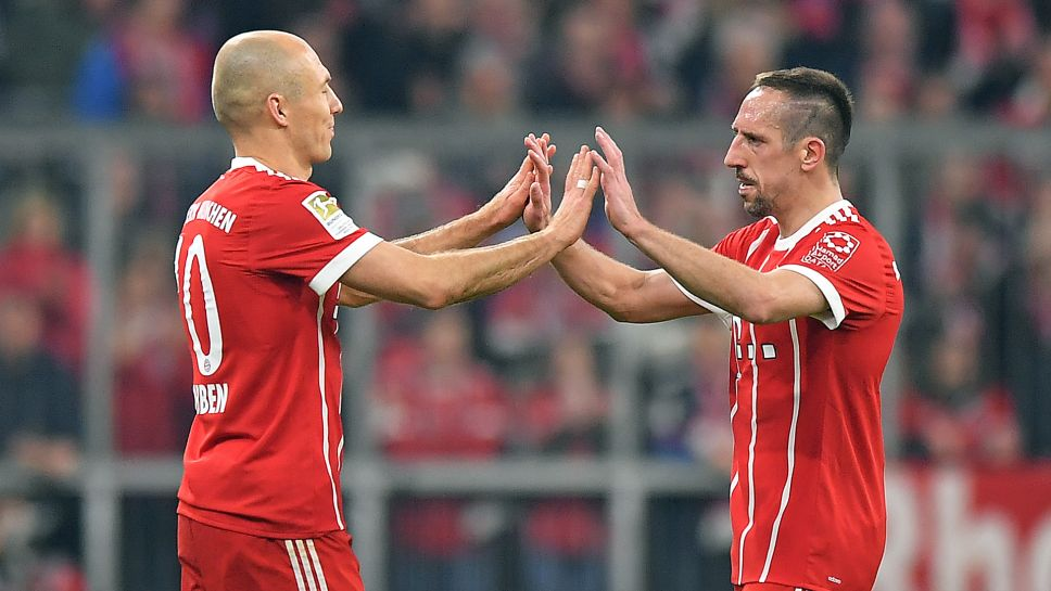 Image result for Robben with ribery