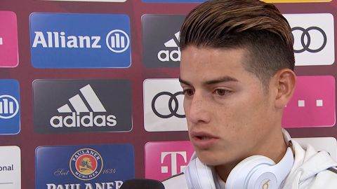 Watch: James eyes Champions League success
