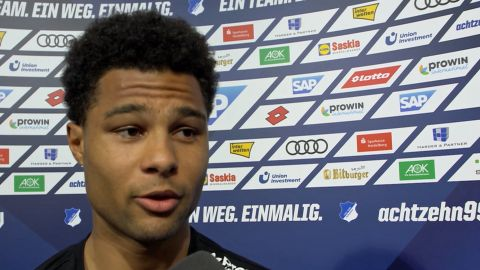 "Watch: Gnabry: ""We wanted more goals!"""