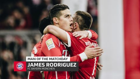 James: MD28's Man of the Matchday
