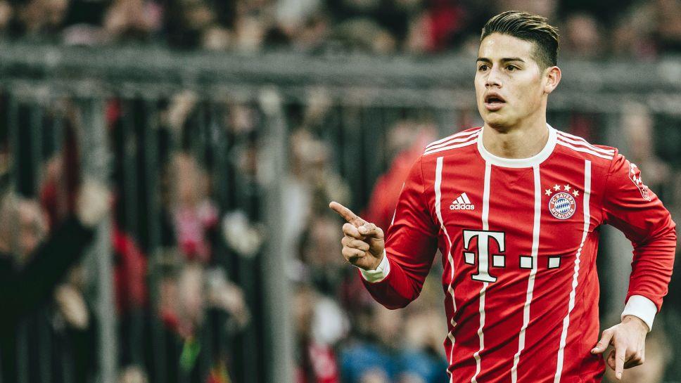 cf7058ff891 James Rodriguez hailed as top transfer by Bayern Munich chief Karl-Heinz  Rummenigge. a year ago