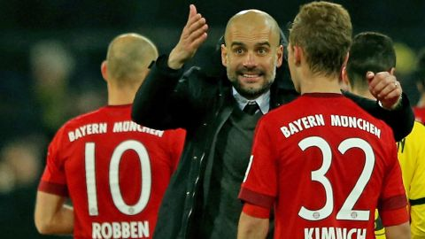 Guardiola and Kimmich: What really happened