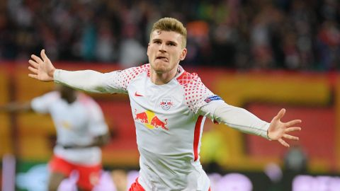 Werner gives Leipzig first-leg win over Marseille