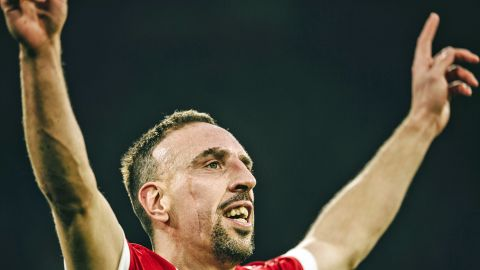Franck Ribery's decorated decade at Bayern