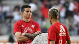 James plotting more trophies with Bayern