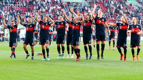 Bayern crowned champions - As it happened!