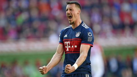 Sandro Wagner back where he belongs at Bayern