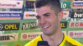 "Watch: Pulisic: ""It wasn't wrong in the end"""