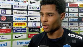 "Watch: Gnabry: ""Two points lost"""
