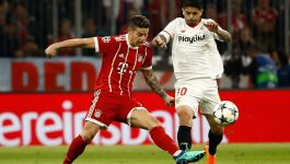 Bayern hold Sevilla to reach UCL last four