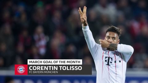 Tolisso wins March Goal of the Month!