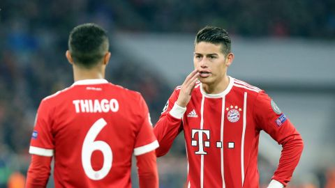 Thiago tips Germany and James at World Cup