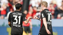 Leverkusen 4-1 Frankfurt: As it happened!
