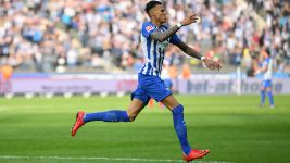 Selke double helps Hertha past Cologne