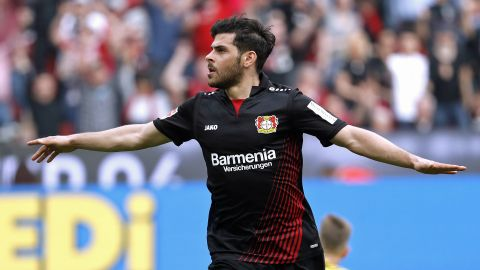 Watch: Leverkusen 4-1 Frankfurt